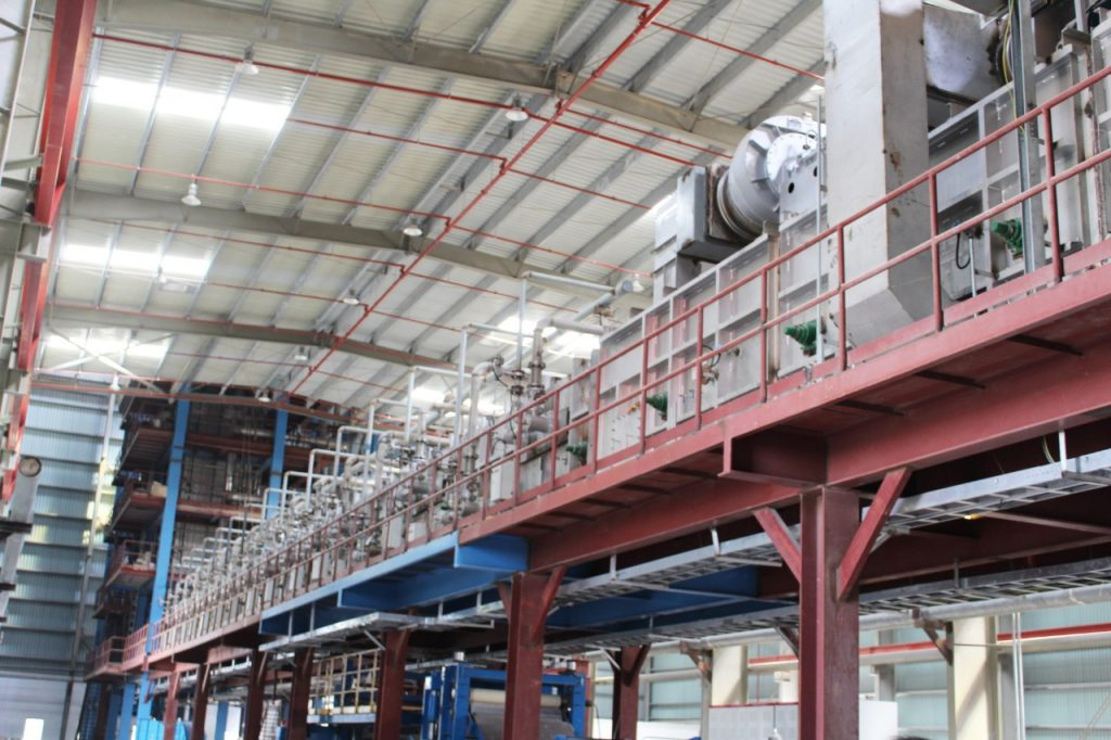 Vertical Furnace of Non OX Galvanizing Line - DANA STEEL