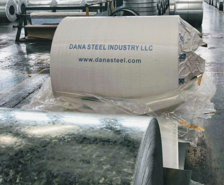 Steel Coils Factory for GI & PPGI Steel in Dubai UAE - DANA Steel