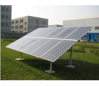 solar panel gi stand dubai