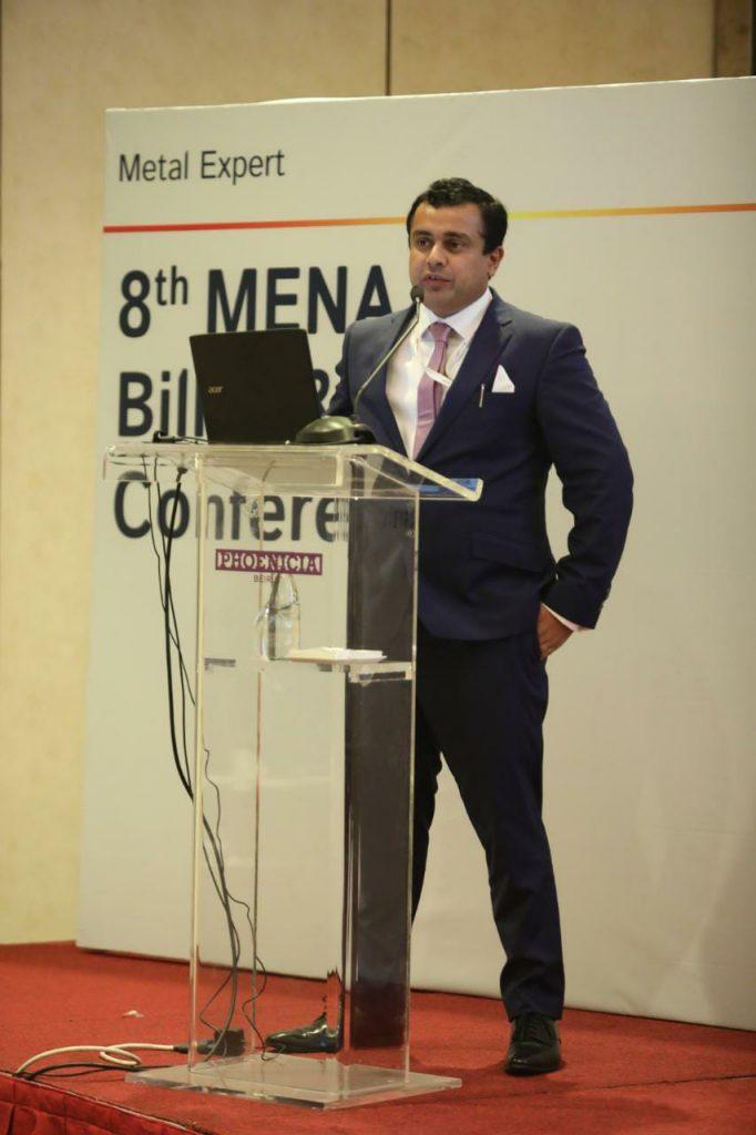 Septembre 2019 :- Participation de DANA STEEL dans la 8ème conférence annuelle MENA Billet & Flats , à Beirout Lebanon.
