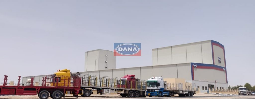 DANA STEEL - Continuous Coil Coating and Galvanizing line in Dubai Industrial City Dubai