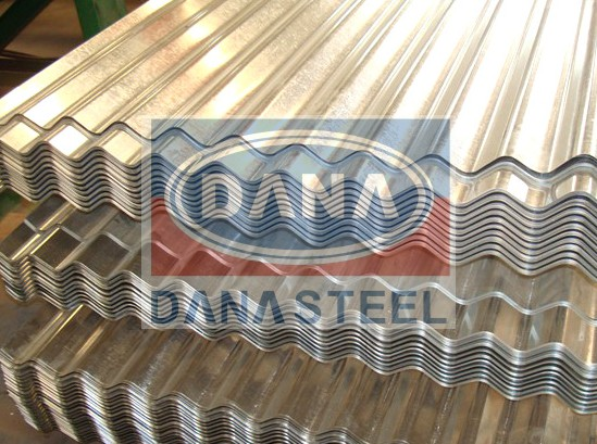 corrugated galvanized gc gi iron sheet supplier