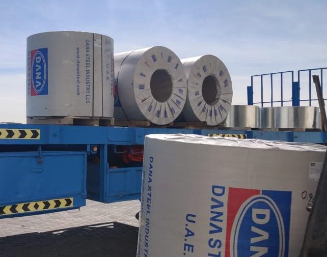 UAE steel Colored Prepainted Aluminum Galvanized Coils