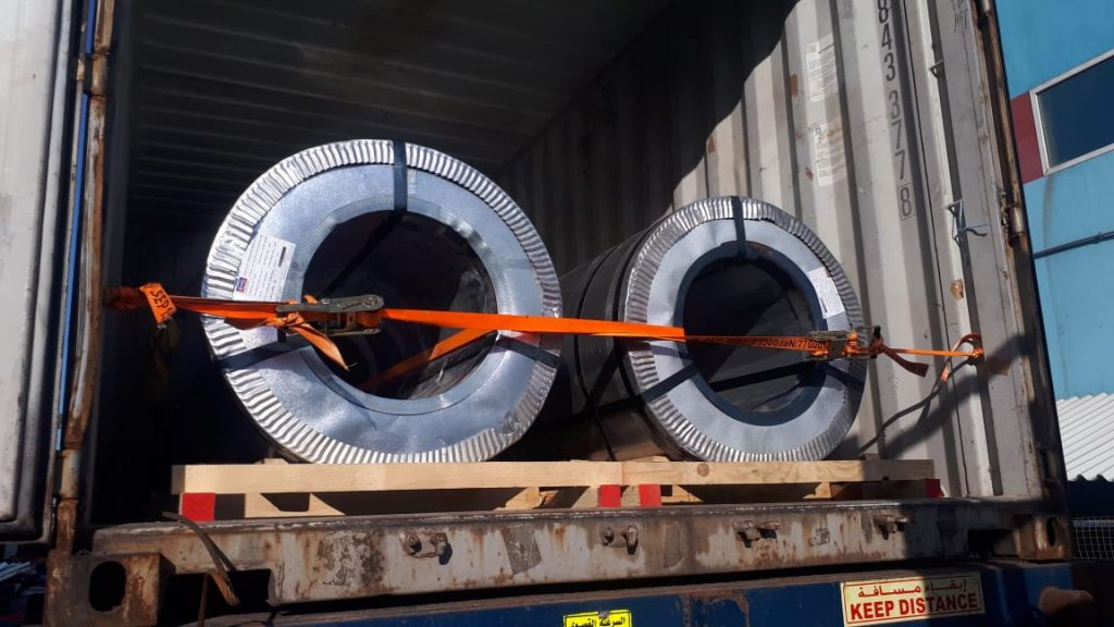 galvanized Steel Coils Export packing gi coils supplier manufacturer dana steel