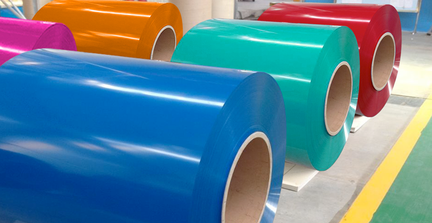 We generally use three different types of paint systems on pre-painted aluminium coils
