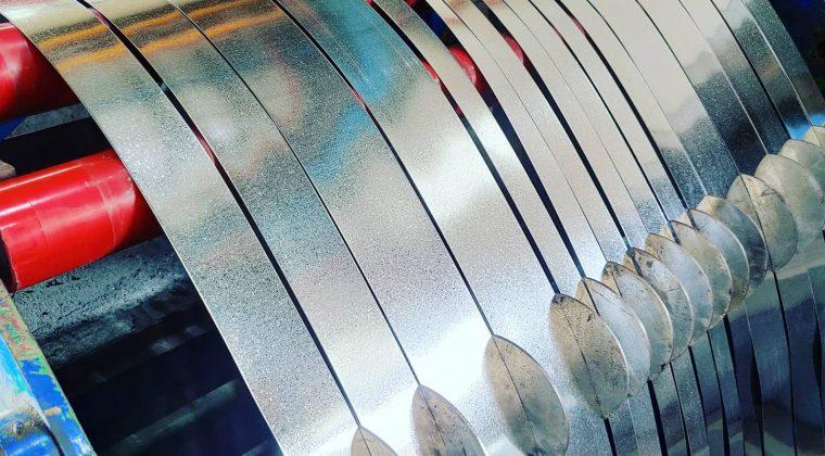 Slitted Galvanized (GI) Coils