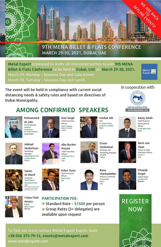 current confirmed speakers for the MENA conference in Dubai